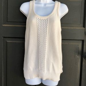 Wallace Cotton Sweater Tank Top